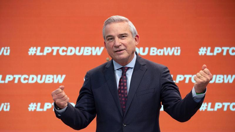 Thomas Strobl, Landesvorsitzender der CDU Baden-Württemberg. Foto: Marijan Murat/dpa-Pool/dpa