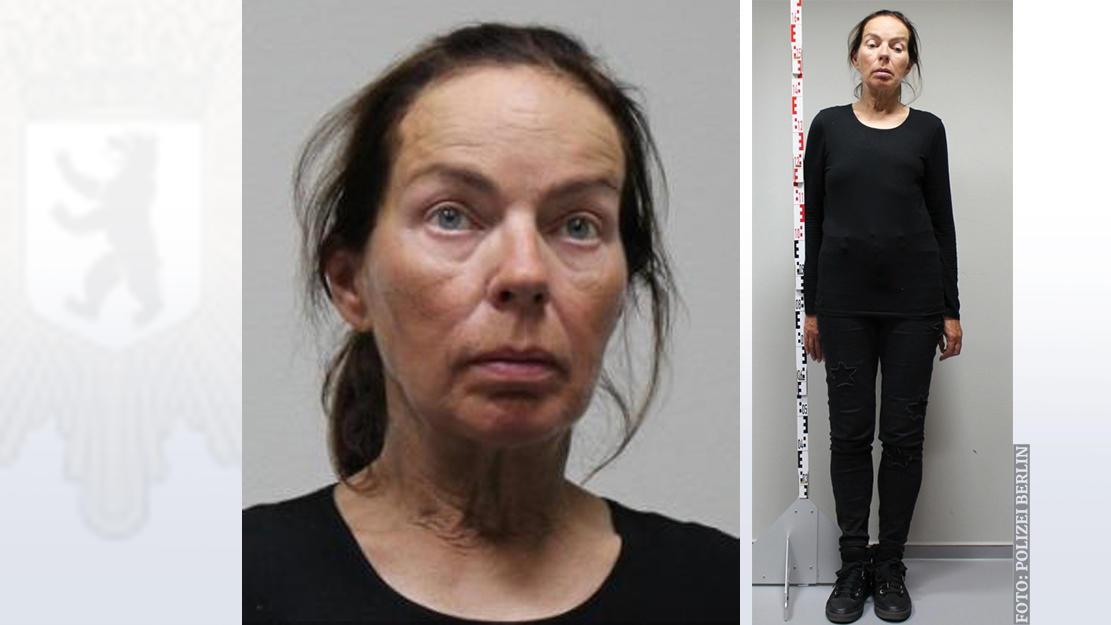 Die Berliner Polizei sucht nach Menschen, die diese Frau kennen.