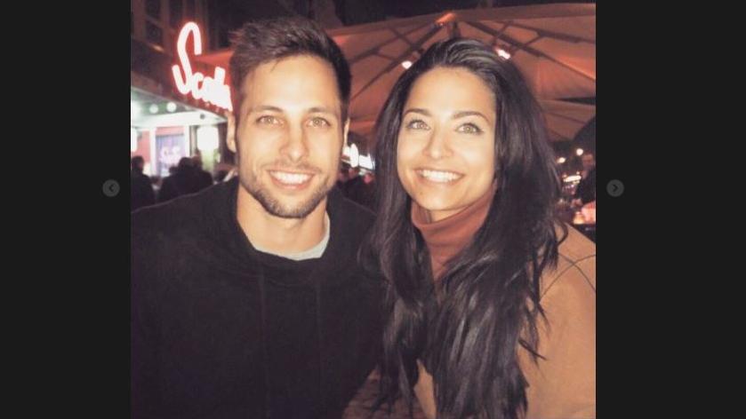 Amira Pocher teilt dieses Bild von ihrem Bruder.