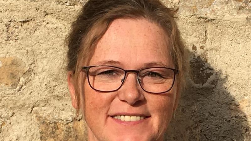 Ilka Jope, Geschäftsführerin des Thüringer Hospiz- und Palliativverbands (THP). Foto: Iris Hobler/Thüringer Hospiz- und Palliativverband e.V./dpa/Archivbild