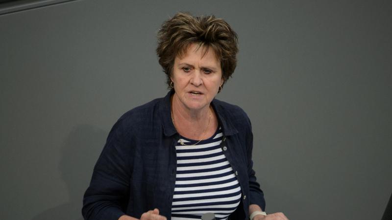 Sabine Zimmermann (Die Linke). Foto: Sina Schuldt/dpa/Archivbild