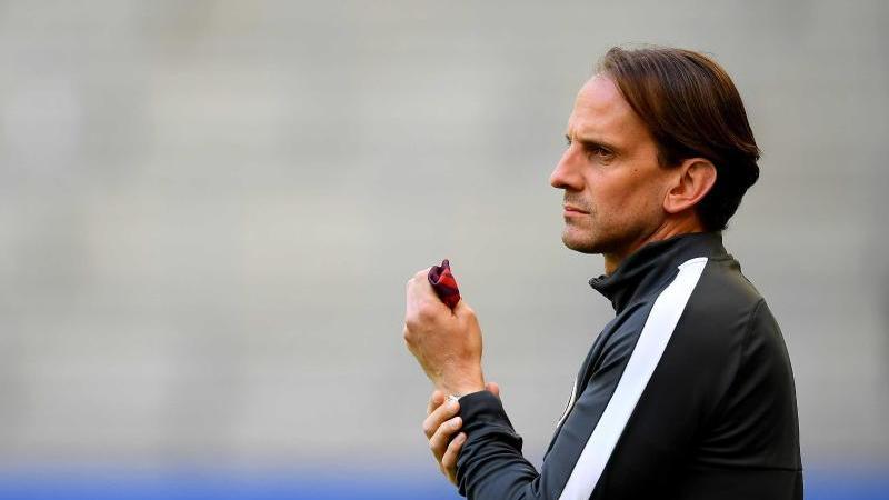 Rüdiger Rehm, Trainer des SV Wehen Wiesbaden. Foto: Stuart Franklin/Getty Images Europe/Pool/dpa/Archivbild