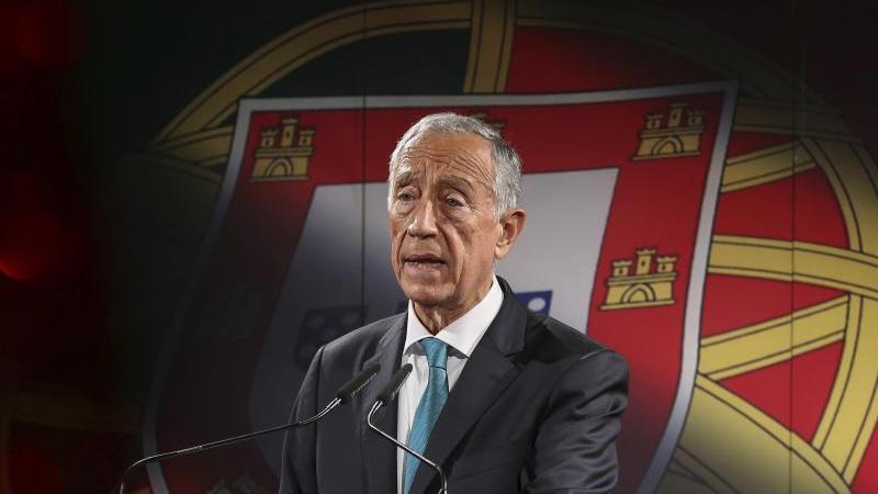 Marcelo Rebelo de Sousa, amtierender Präsident von Portugal. Foto: Manuel De Almeida/Lusa Pool/AP/dpa