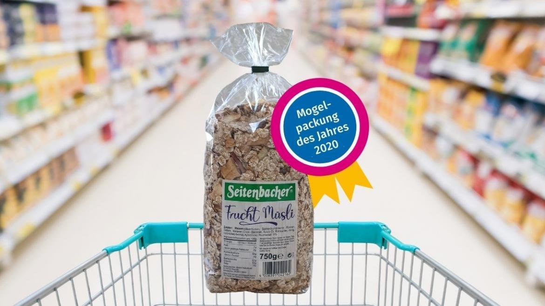 Frucht Müsli von Seitenbacher ist die Mogelpackung des Jahres 2020