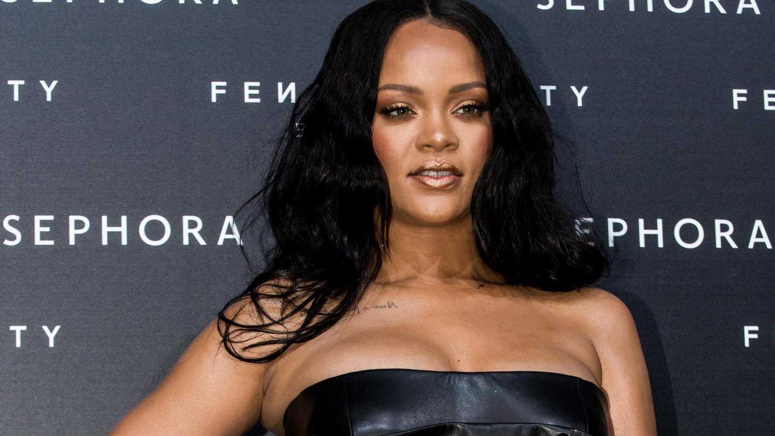 Für ihre neue Dessous-Linie zeigt sich Rihanna jetzt von ihrer besonders verführerischen Seite.