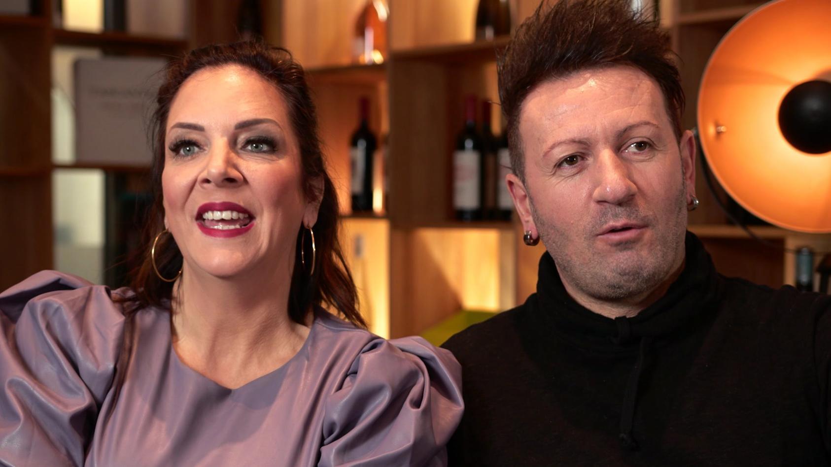 Danni Büchner und Ennesto Monté waren nur kurze Zeit ein Paar.