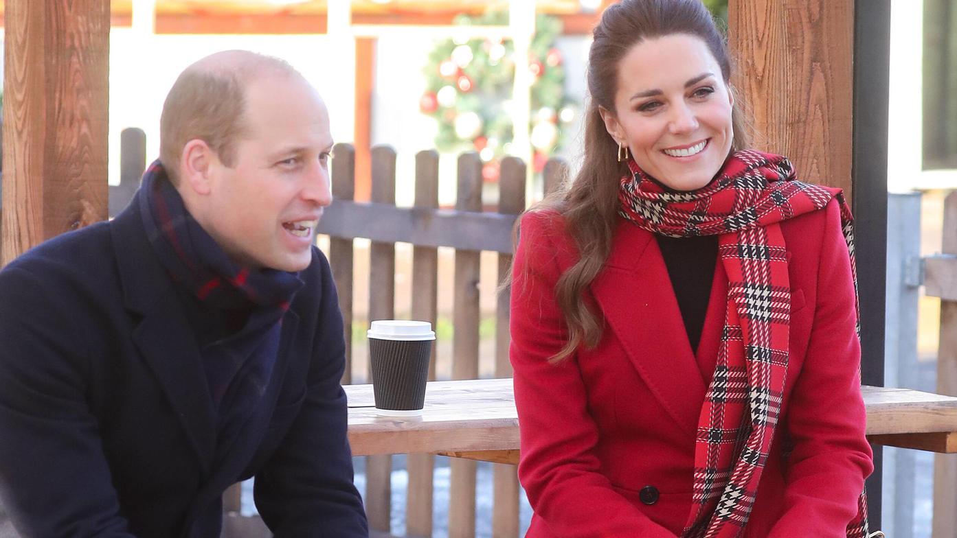 William und Kate gewähren jetzt einen Blick in ihr royales Wohnzimmer.
