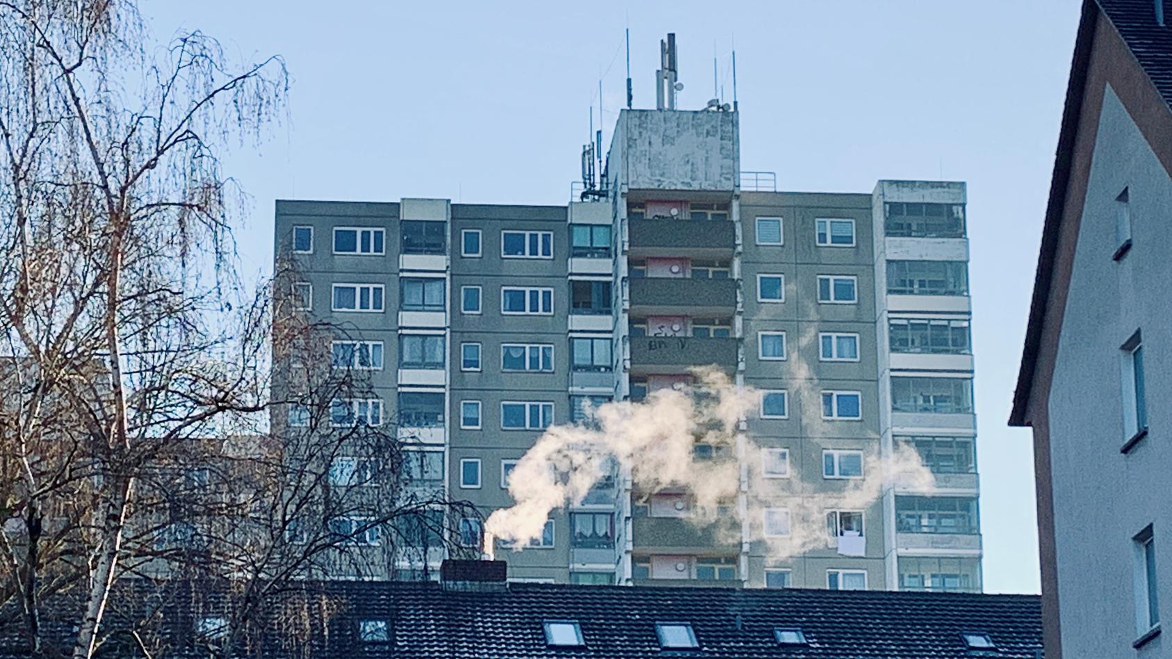 An diesem Gebäudekomplex in Frankfurt-Bornheim eskalierte der tödliche Streit.