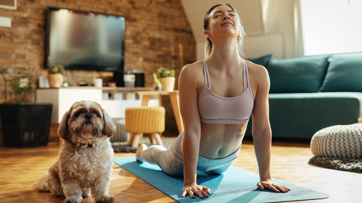 Yoga führt zur Stressbefreiung, zu mehr Konzentration und Achtsamkeit.