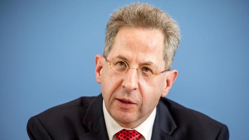 Hans-Georg Maaßen, damaliger Präsident des Bundesamtes für Verfassungsschutz. Foto: Michael Kappeler/dpa