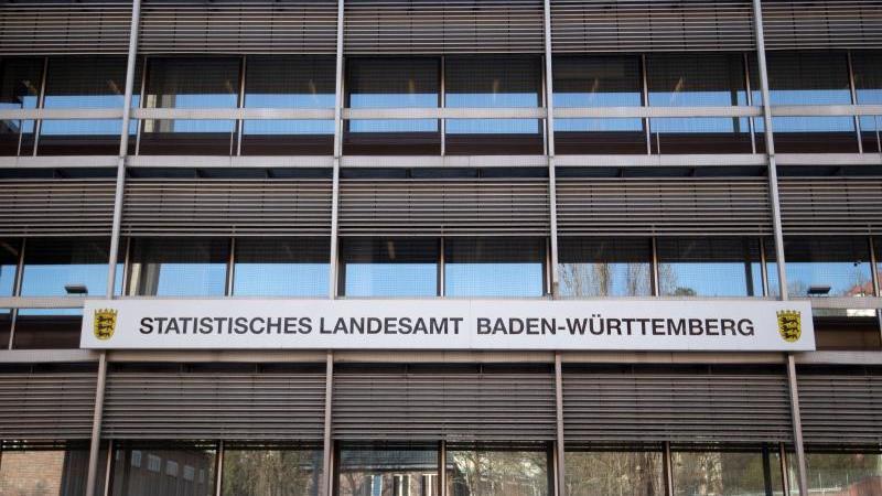 Das Statistische Landesamt Baden-Württemberg. Foto: Marijan Murat/dpa/Archivbild