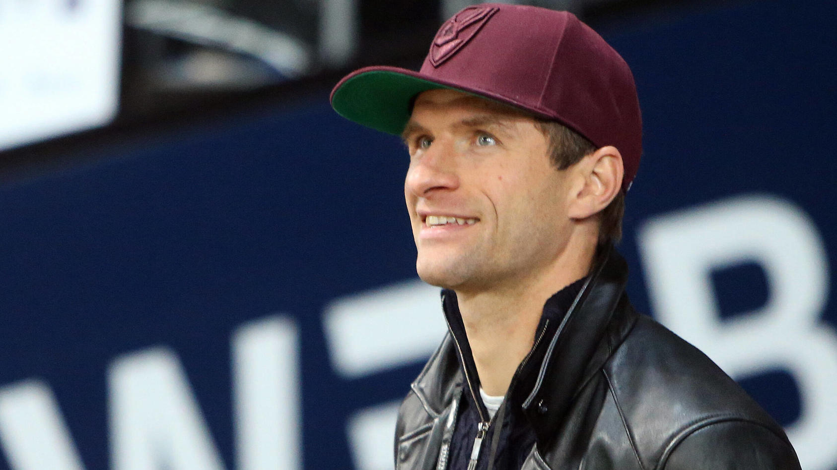 "Bayern-Star Thomas Müller ""in zivil""."