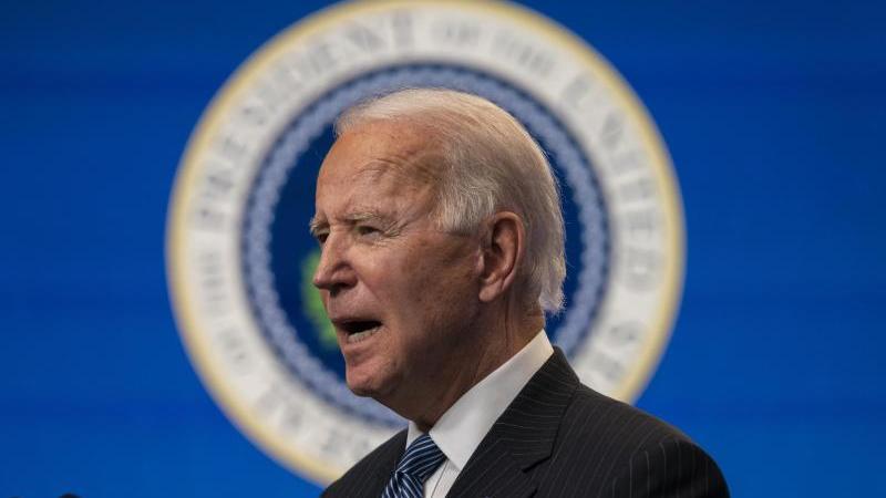 US-Präsident Joe Biden bei einer Rede. Foto: Evan Vucci/AP/dpa/Archivbild