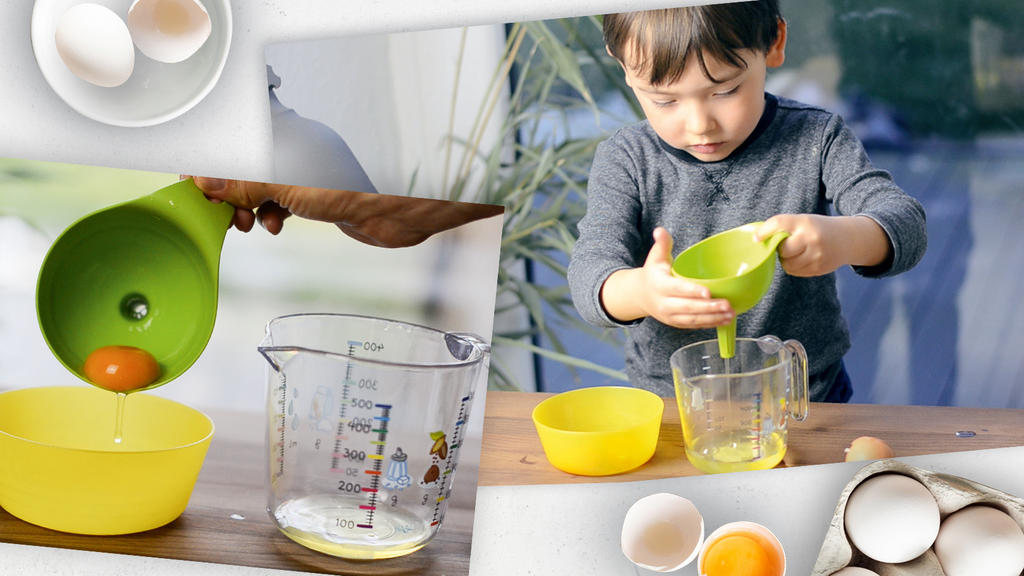 Eier trennen leicht gemacht - mit diesem Mama-Trick von Julia Lanzke