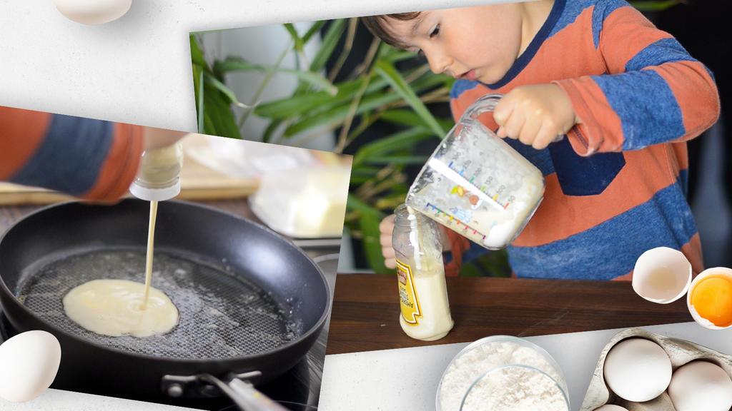 Eine alte Saucenflasche dient als Portionierer - einfach quetschen und nichts matscht!