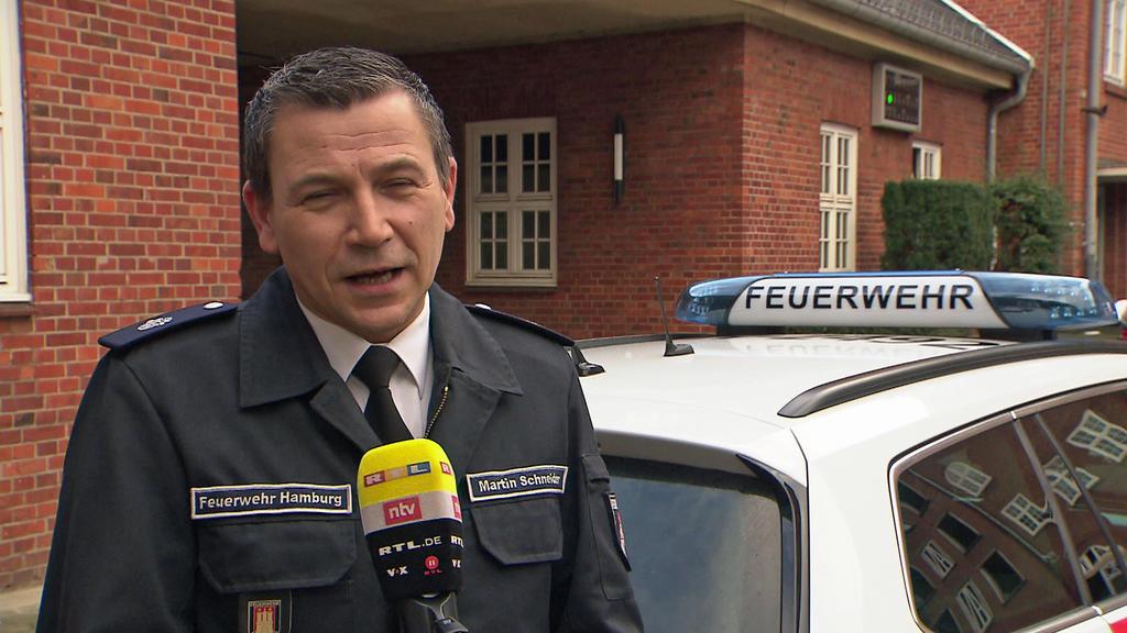Martin Schneider, Pressesprecher der Hamburger Feuerwehr.
