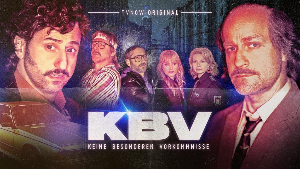 """""""KBV - Keine besonderen Vorkommnisse"""" startet am 25. Februar auf TVNOW."""