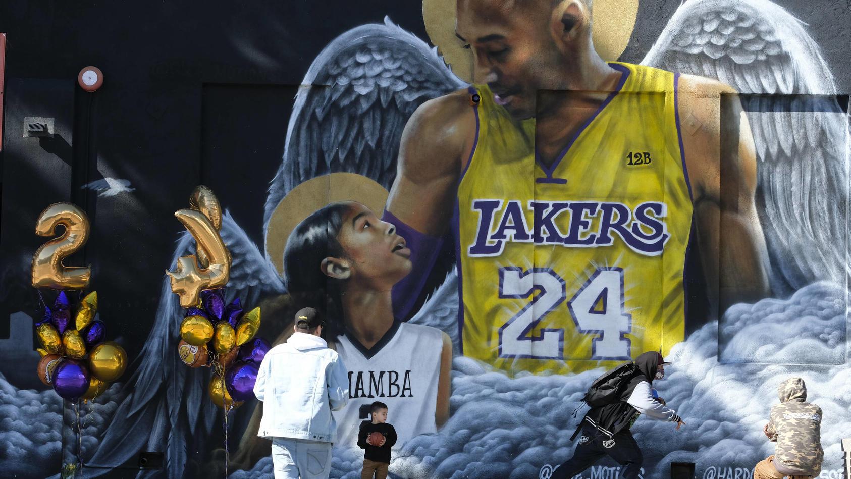 Kobe Bryant und seine Tochter Gianna kamen vor einem Jahr bei einem Hubschrauber-Absturz ums Leben
