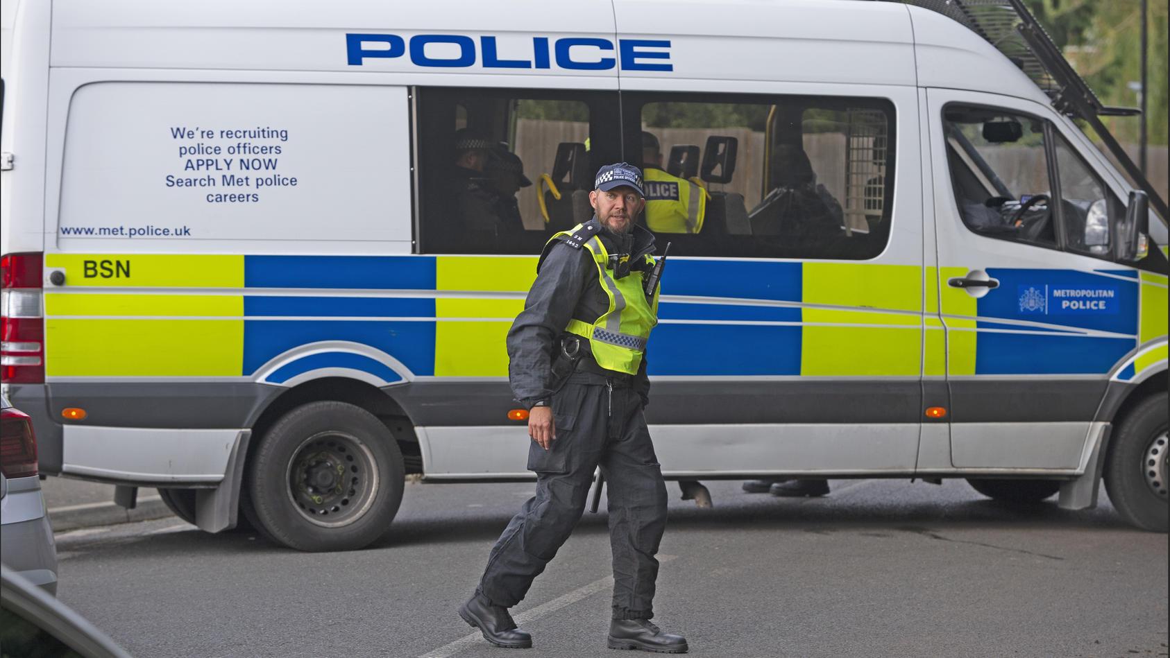 Ein Polizeieinsatz in England sorgt für Staunen. (Symbolfoto)