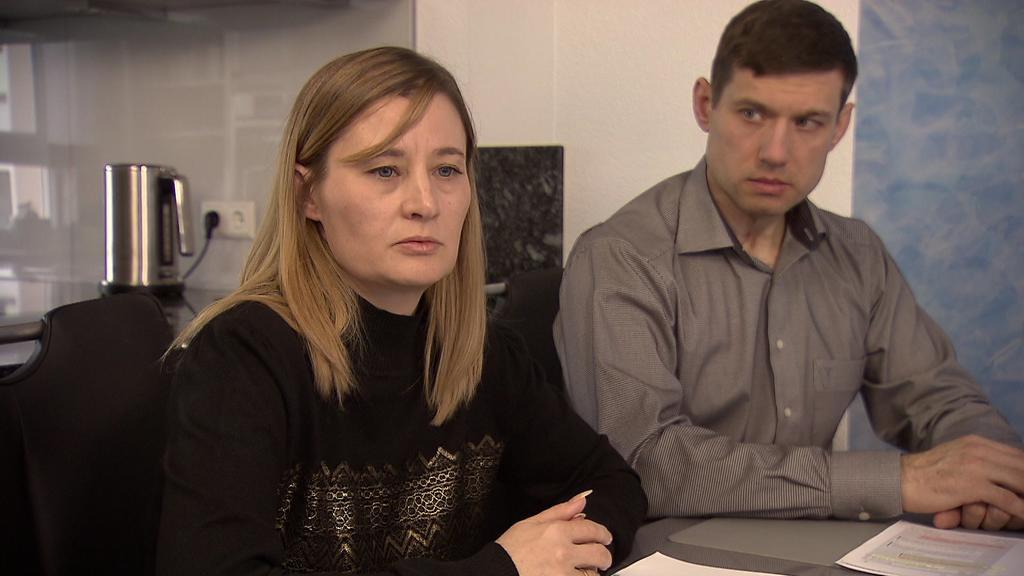 Natalie und Dimitri, Eltern der vermissten Jennifer aus Bühl