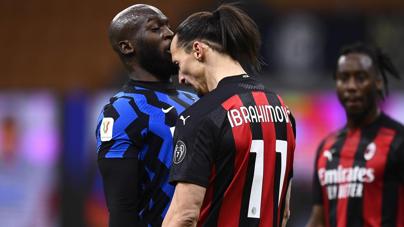 Lukaku und Ibrahimovic
