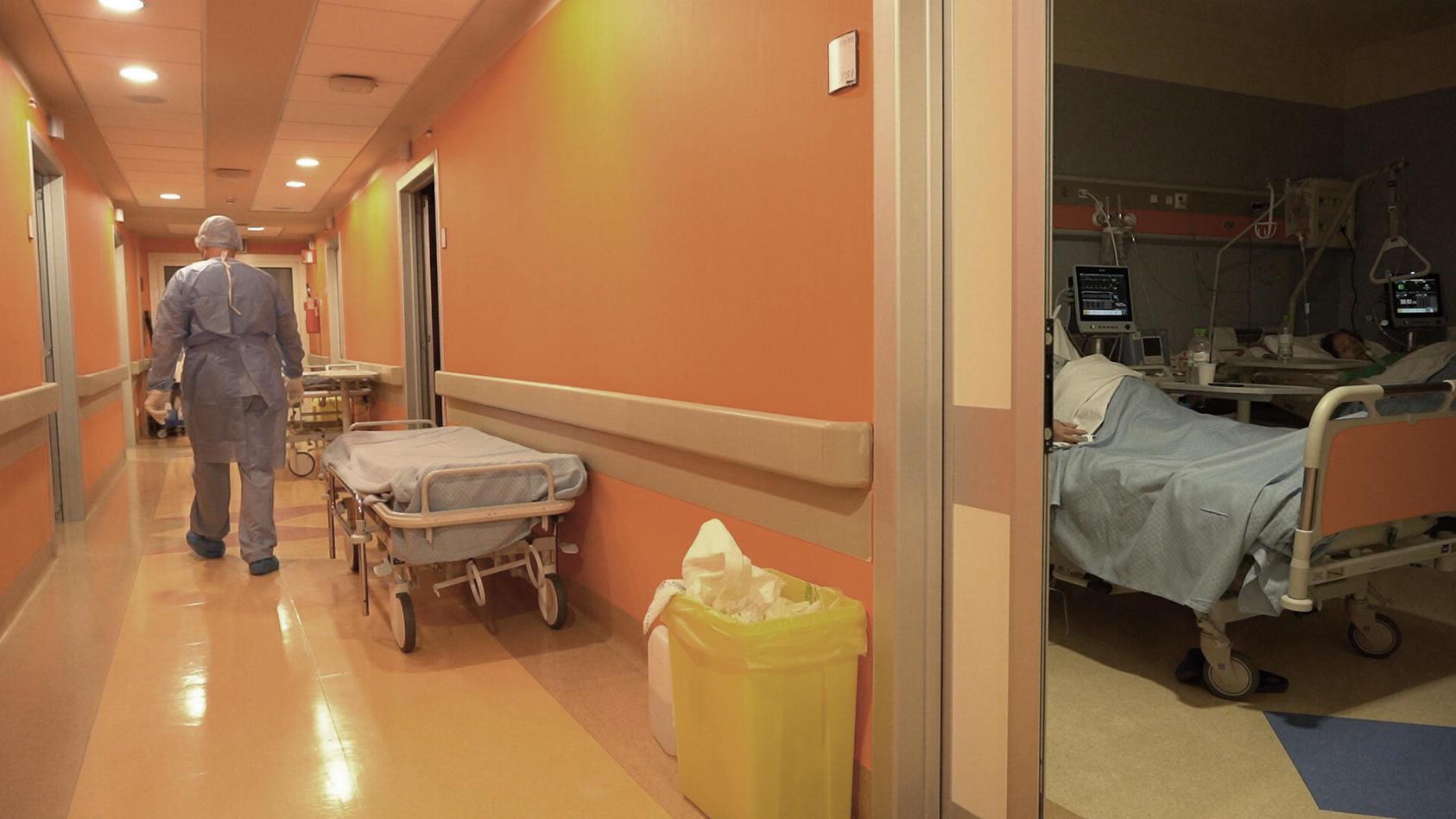 Norditalien: Arzt soll Corona-Patienten in Klinik getötet haben (Symbolbild).