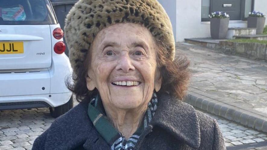 Lily Ebert (97) hat sich im Januar mit dem Coronavirus infiziert. Inzwischen hat sie sich von der Erkrankung erholt.
