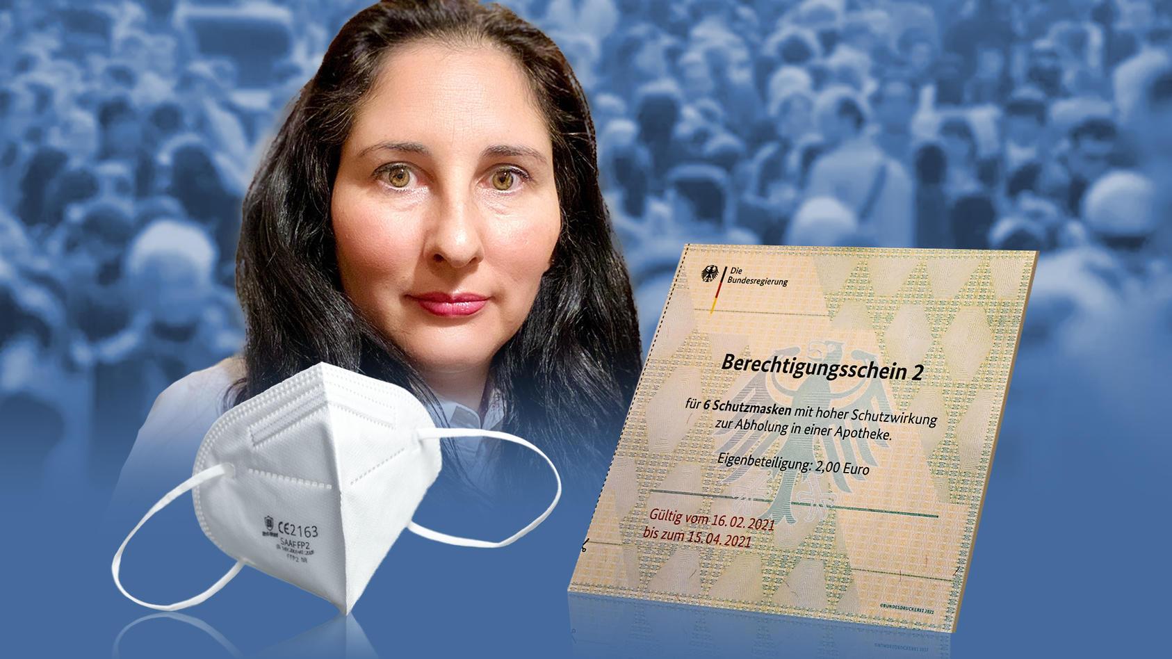 Die Bundesdruckerei hat fälschungssichere Berechtigungsscheine für FFP2-Masken an die deutschen Krankenkassen verschickt - aber wirklich nur an berechtigte Personen?