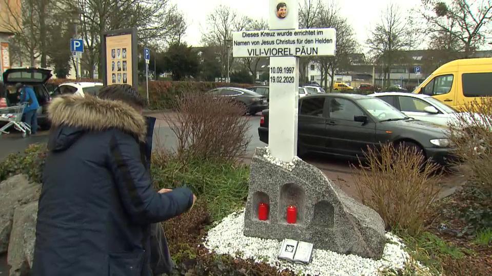Hanau, Niculescu Paun zu seinem Sohn Vili Viorel Paun