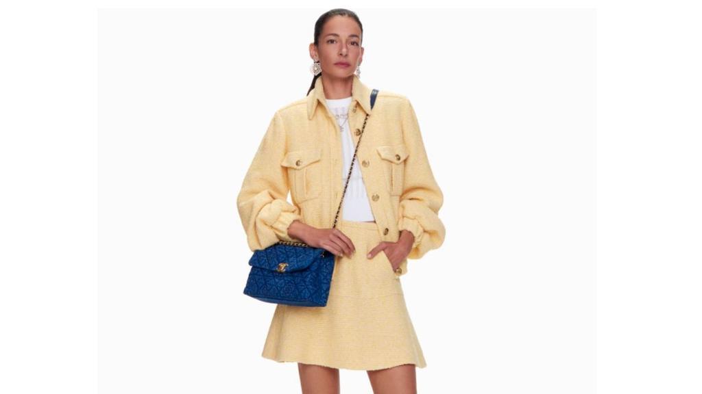 Chanel-Jacke aus Tweed