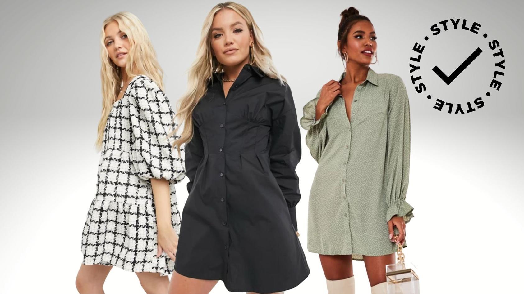 Im Januar 2021 spielen Hemdkleider und Tweed eine wichtige Mode-Rolle.