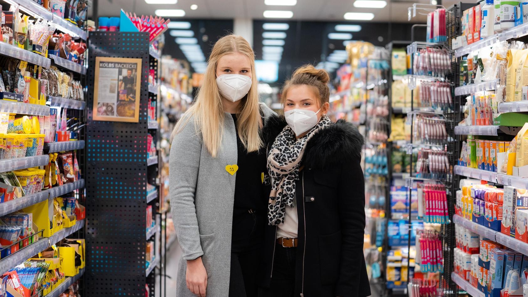 Im bayerischen Volkach können Singles freitagsabends im Supermarkt flirten.