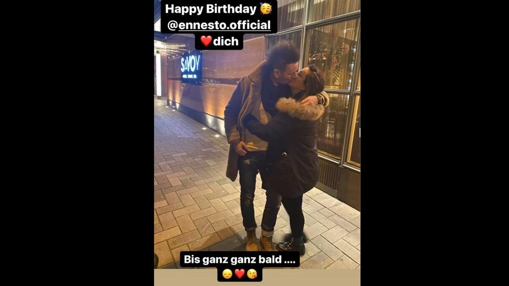 Danni Büchner gratuliert ihrem Partner Ennesto Monté auf Instagram zum Geburtstag.