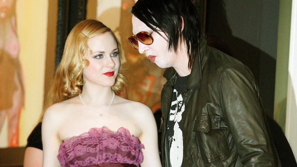 Evan Rachel Wood und Marilyn Manson waren knapp vier Jahre ein Paar.