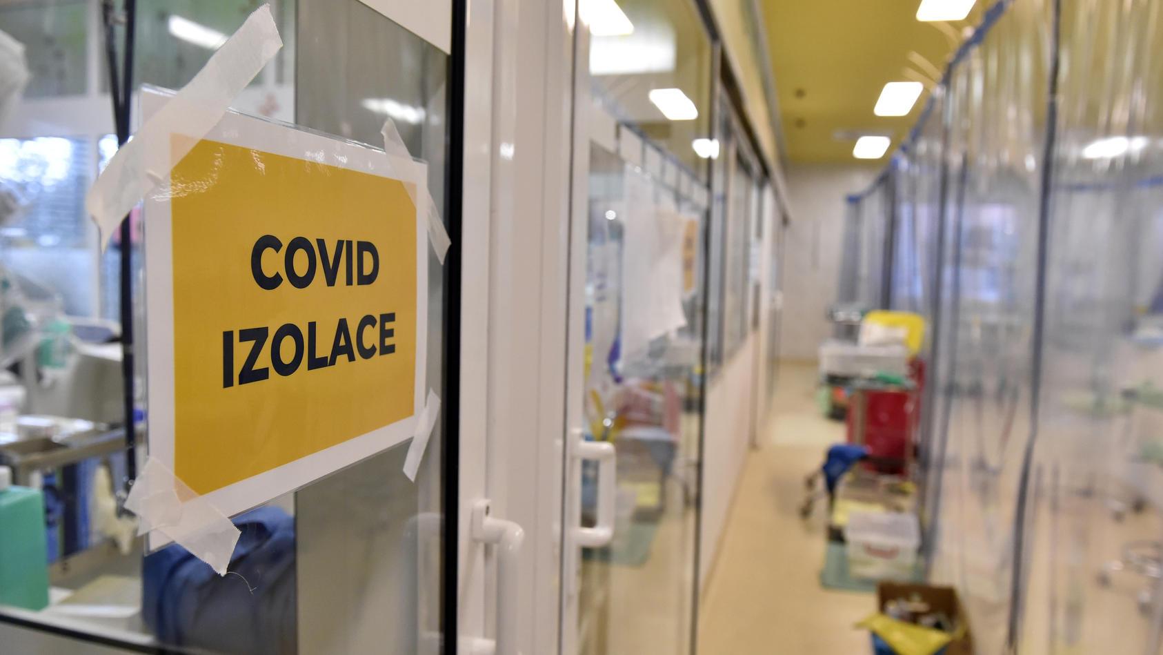 Tschechien: Coronavirus-Station in einem Krankenhaus (Archivbild)