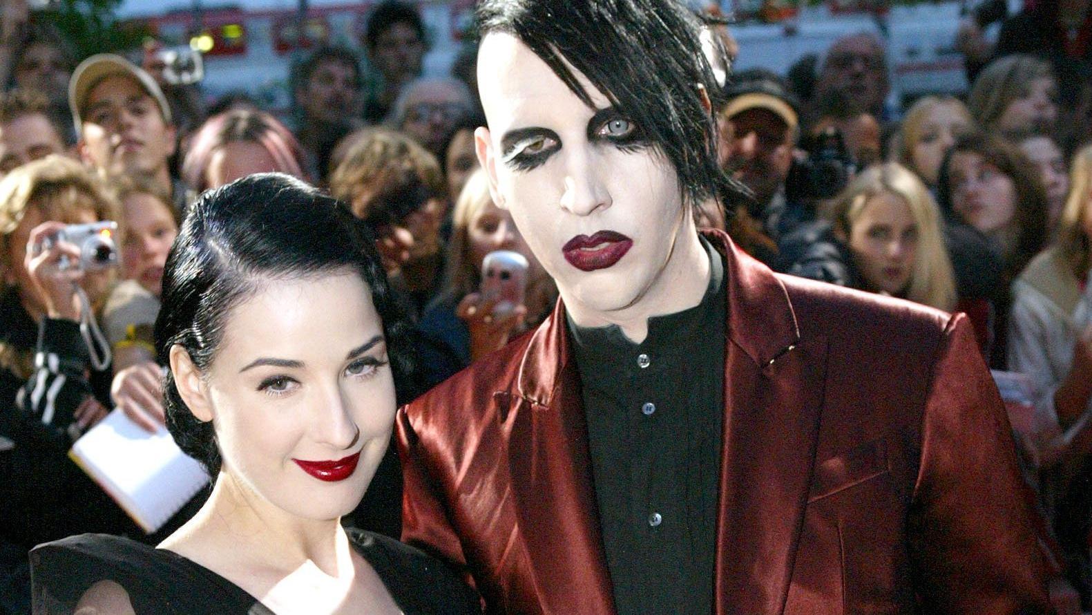 Marilyn Manson und Dita von Teese waren von 2005 bis 2007 verheiratet und insgesamt sieben Jahre lang ein Paar.