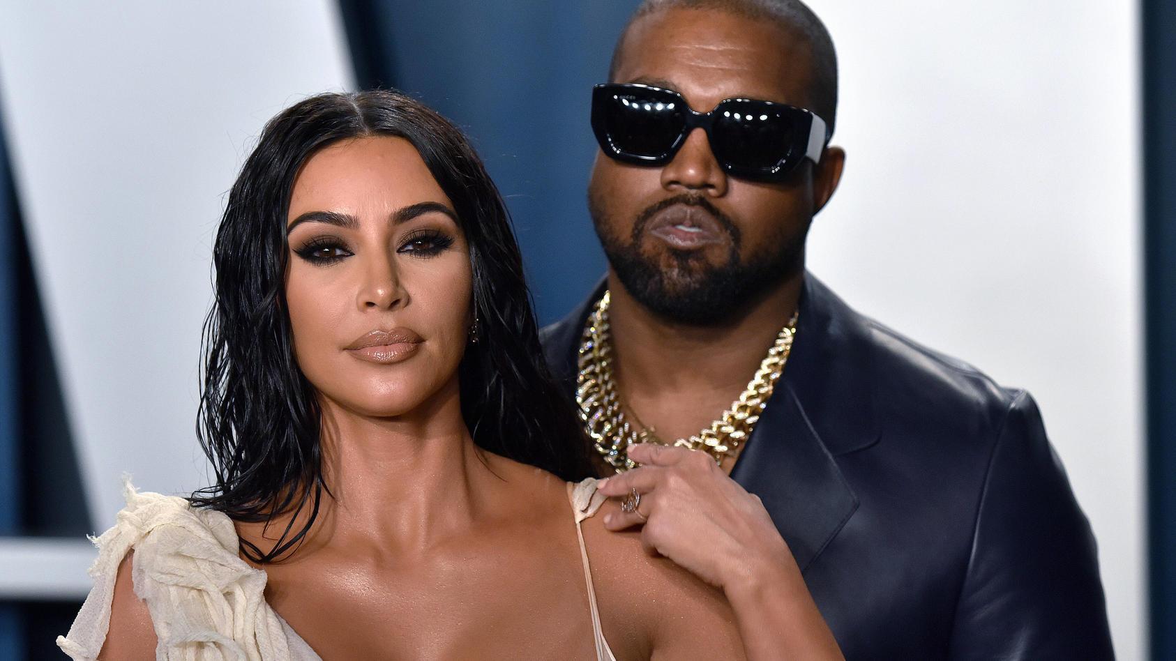 Kim Kardashian und Kanye West waren lange ein Paar, jetzt ist alles aus.