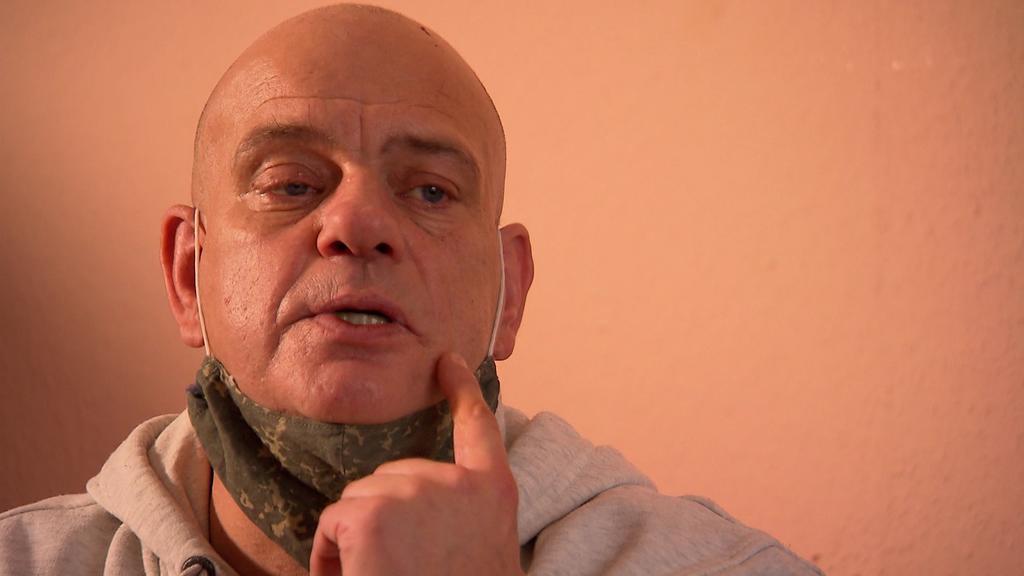 Lambert Engelmann wurde durch die Kälte in seiner Wohnung schwer krank