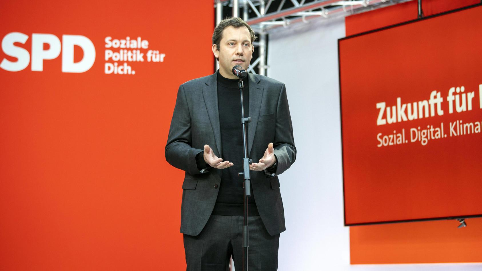 Der Generalsekretär der SPD, Lars Klingbeil