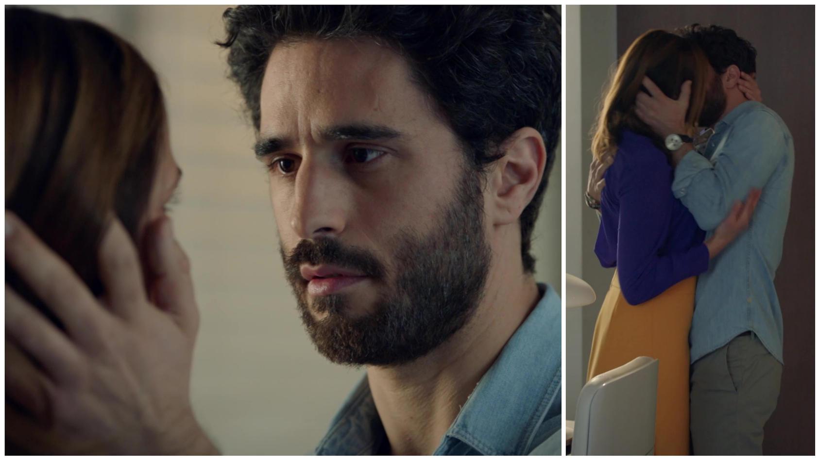 Tobias gesteht Katrin, dass er sich in sie verliebt hat.