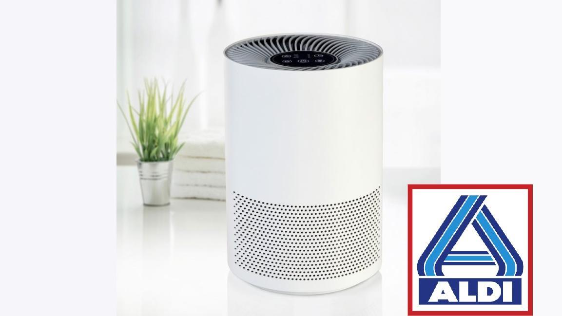 Ab dem 15. Februar ist dieser Luftreiniger bei Aldi erhältlich.