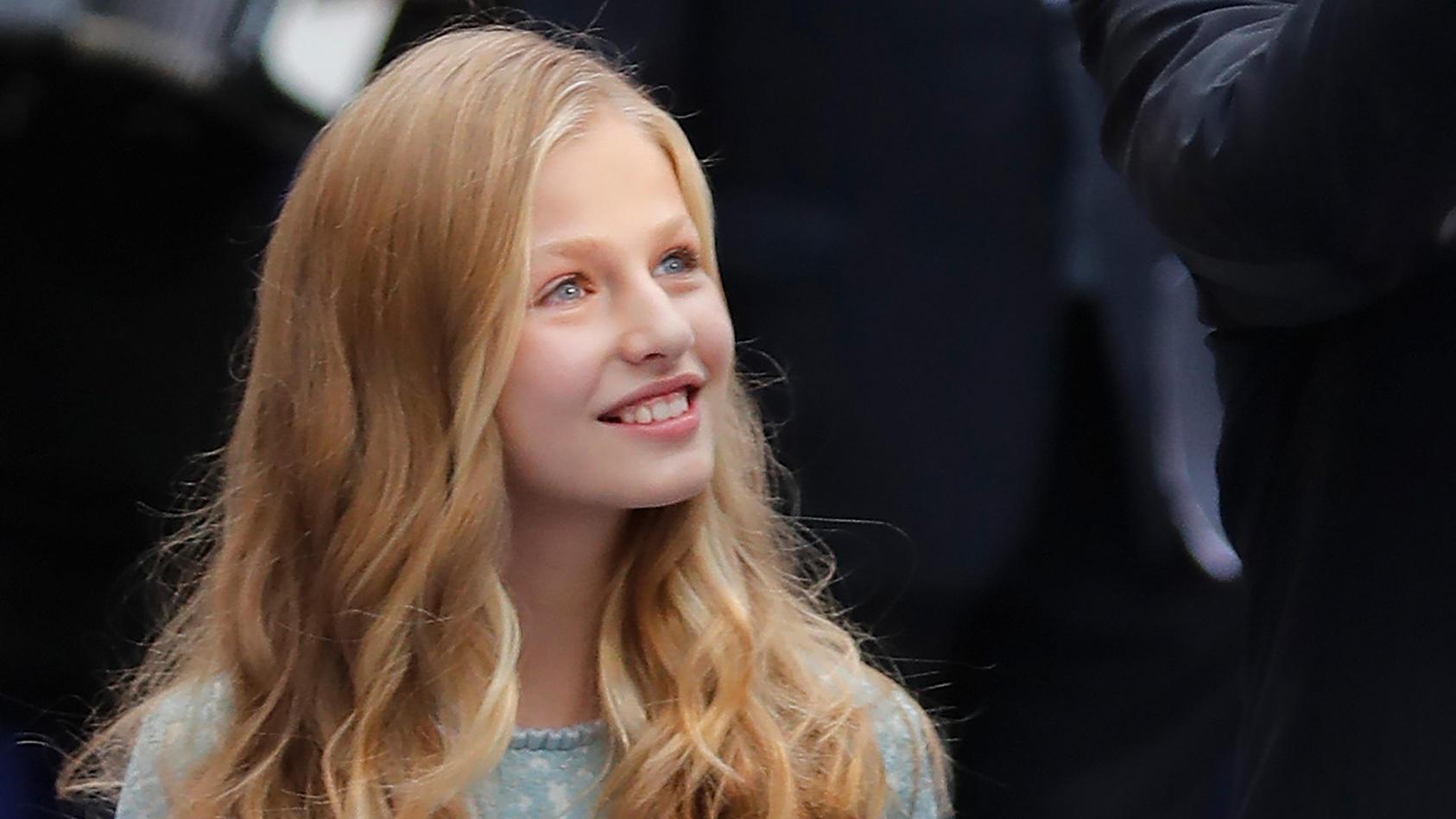 Spaniens Kronprinzessin Leonor wird ihren ersten Solo-Auftritt absolvieren
