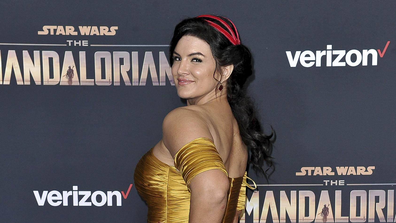 """Gina Carano spielt in den ersten beiden Staffeln von """"The Mandalorian"""" die Rebellin Cara Dune"""