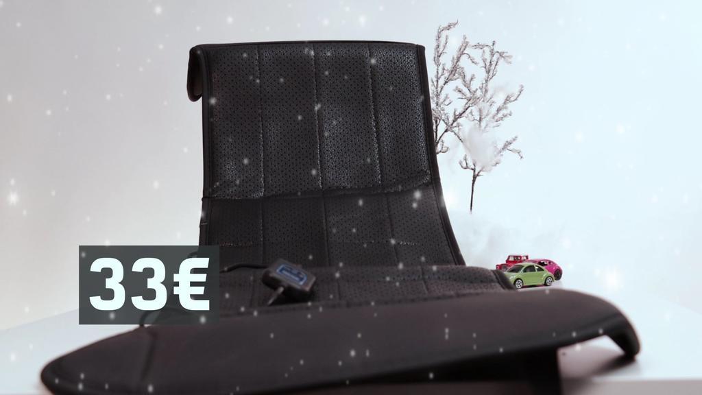 Beheizbare Sitzauflage fürs Auto