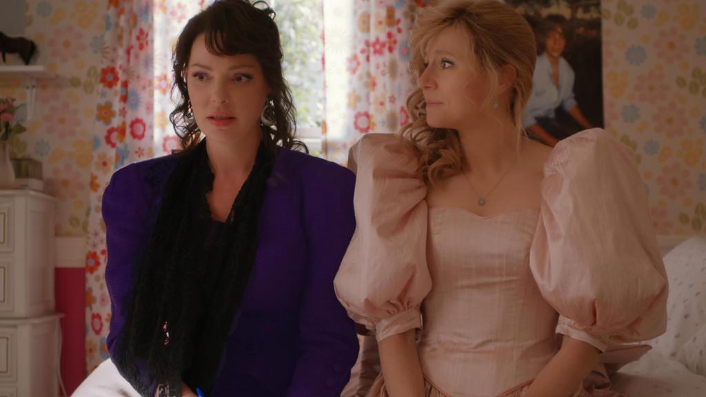 Immer füreinander da: Die besten Freundinnen Tully Hart (gespielt von Katherine Heigl) und Kate Mularkey (gespielt von Sarah Chalke).