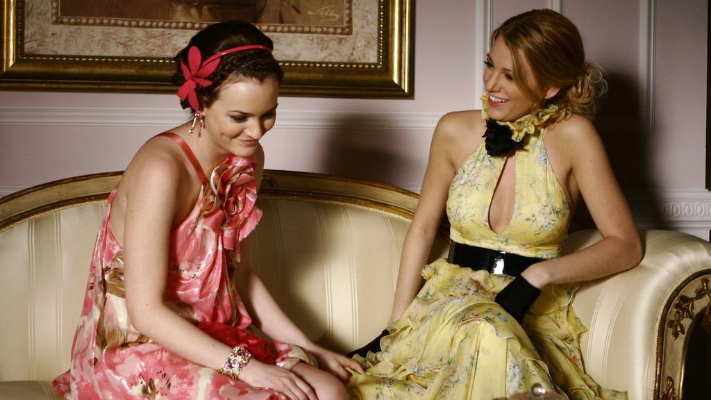 """Blair Waldorf und Serena van der Woodsen in """"Gossip Girl"""""""