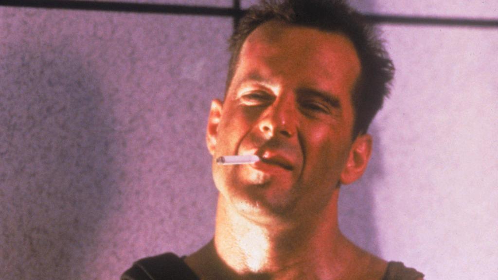 """In der """"Stirb langsam""""-Reihe bietet Polizist John McClane Terroristen und Co. die Stirn."""