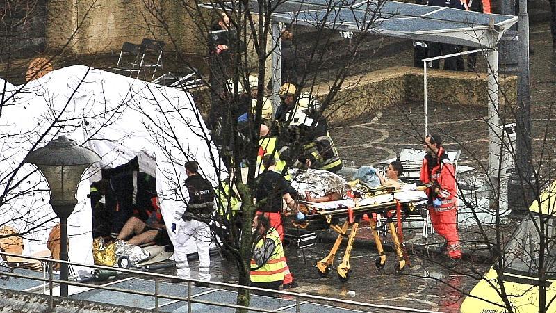 Der Attentäter von Lüttich war der Polizei als gewalttätig bekannt und bereits wegen illegalen Waffenbesitzes vorbestraft.