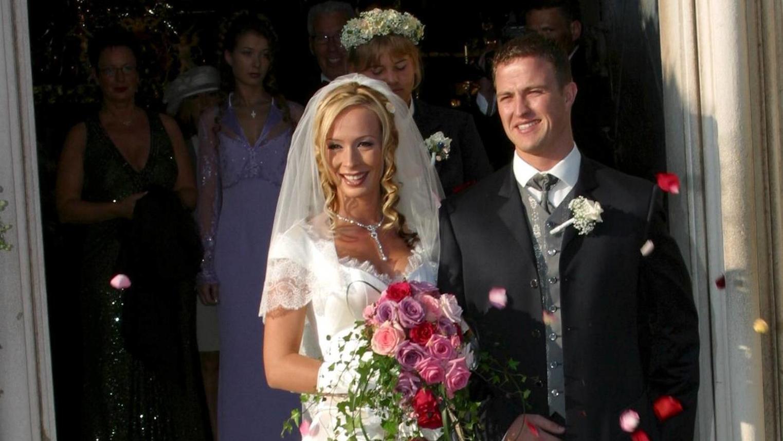Ralf und Cora Schumacher heirateten im Jahr 2002.