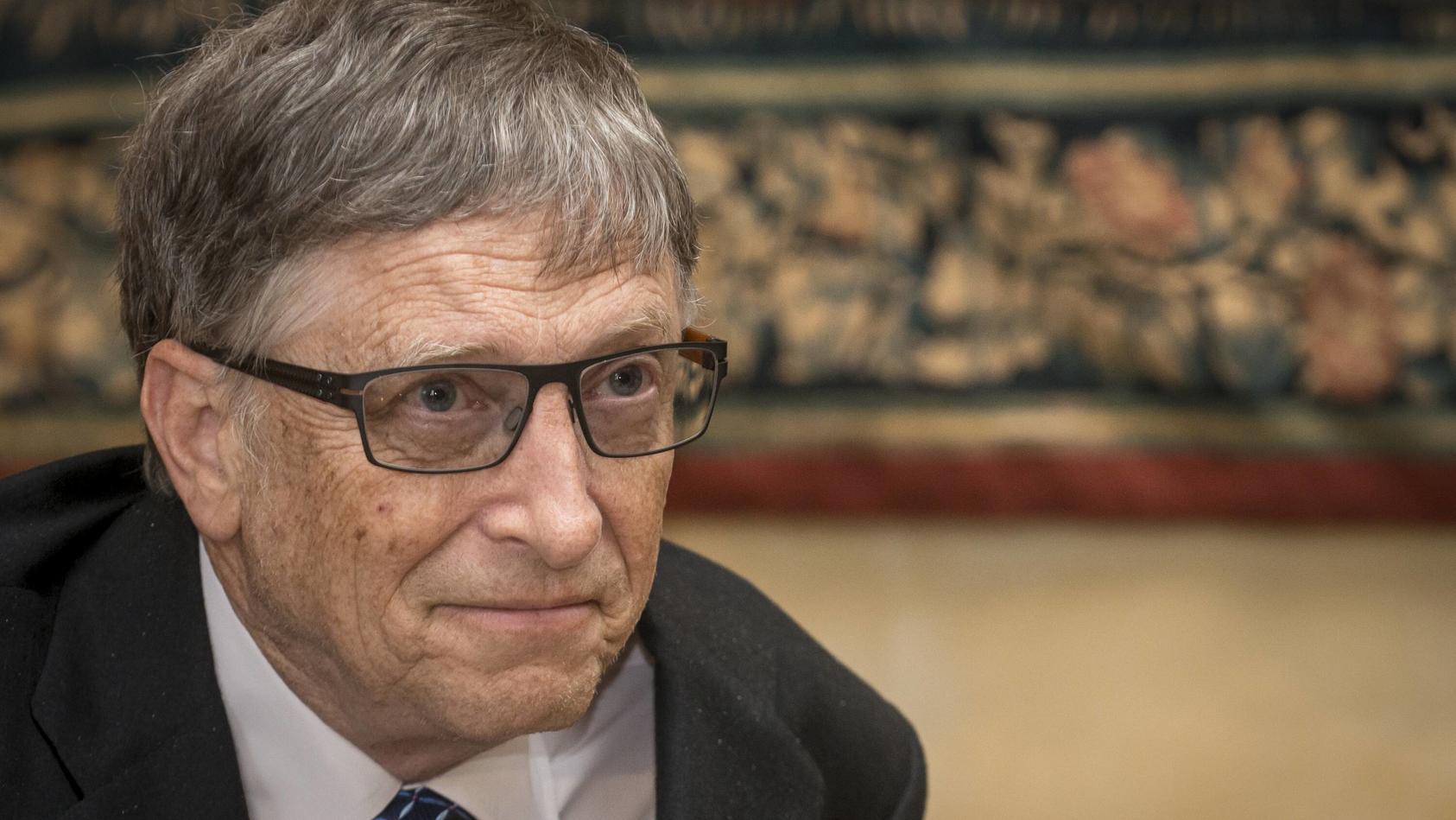 Eine dritte Impfdosis wird wohl erforderlich sein, um die Corona-Pandemie zu besiegen, meintMicrosoft-Gründer Bill Gates.